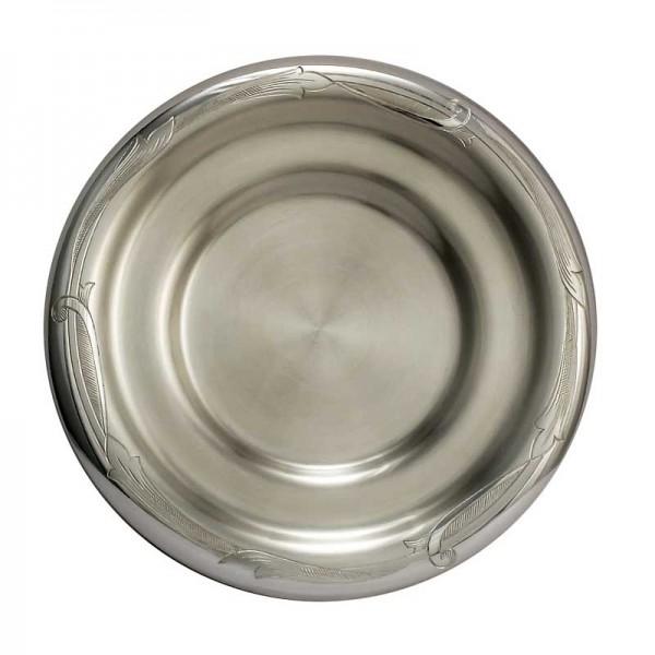 Silber Untertasse 110 g