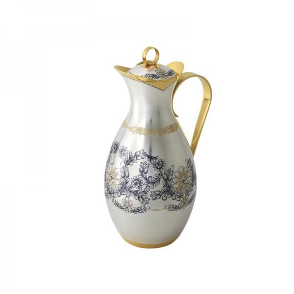 Wasserkanne 1 L aus 925 Silber vergoldet Astra Classic