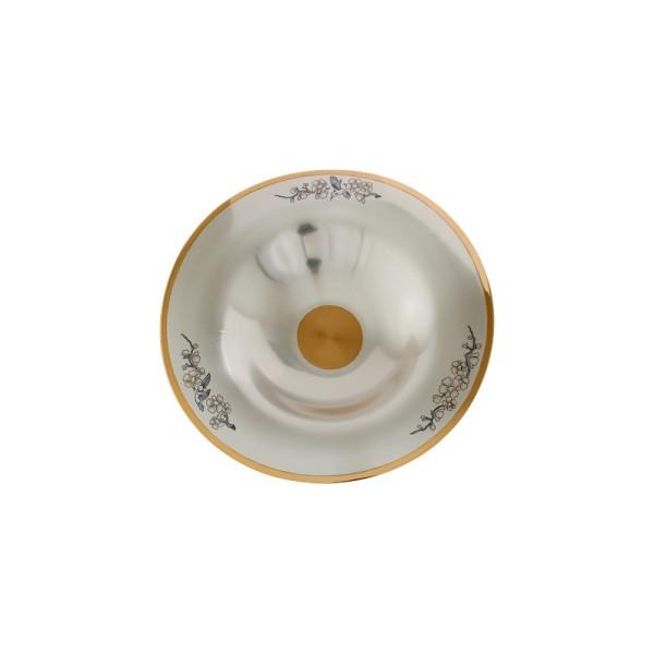 """Schale 500 ml aus 925 Sterling Silber vergoldet """"SAKURA"""""""
