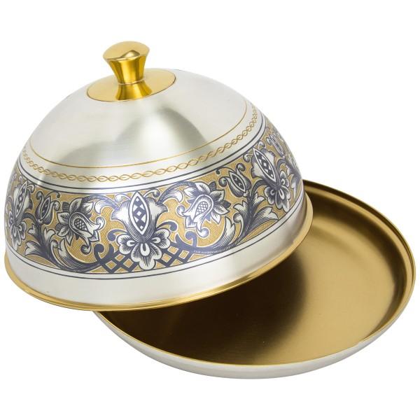"Butterdose aus Sterling Silber vergoldet ""Tradition"""