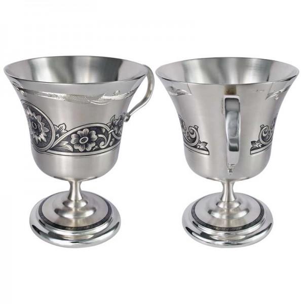 """Kaffeetasse aus Silber 110 ml """"Cappuccino"""""""