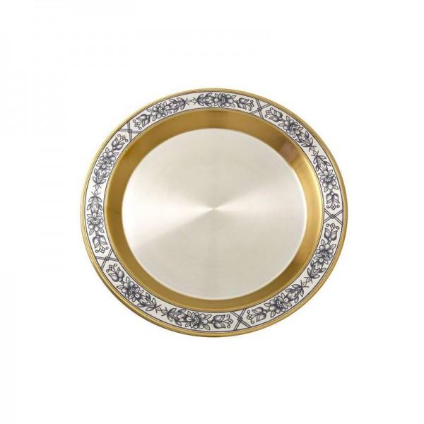 Silber Obstteller aus Sterling Silber vergoldet Astra Classic