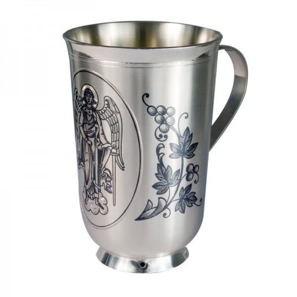 """Luxus Kinder-Becher aus 925 Silber 120 ml """"Angel"""" tolles Geschenk zur Taufe"""