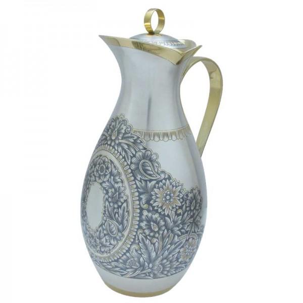 Krug für Wein oder Wasser 1000 ml aus 925 Silber vergoldet