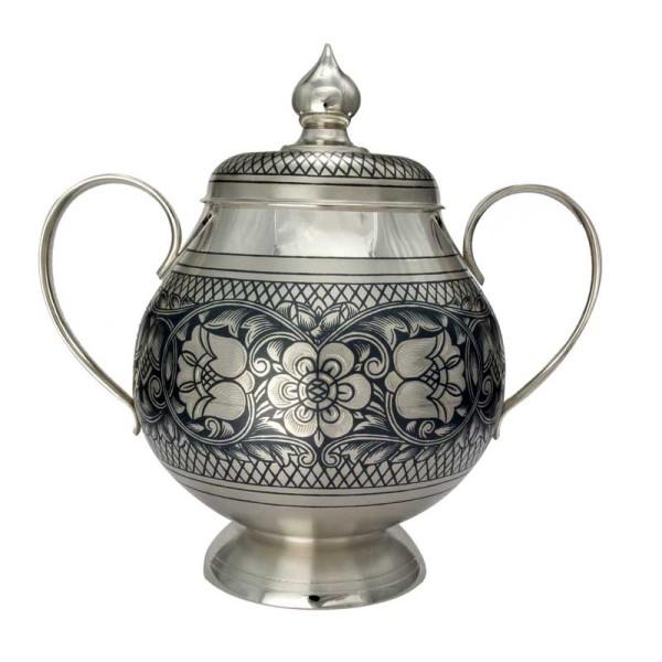 Zuckerdose aus Silber 400 ml