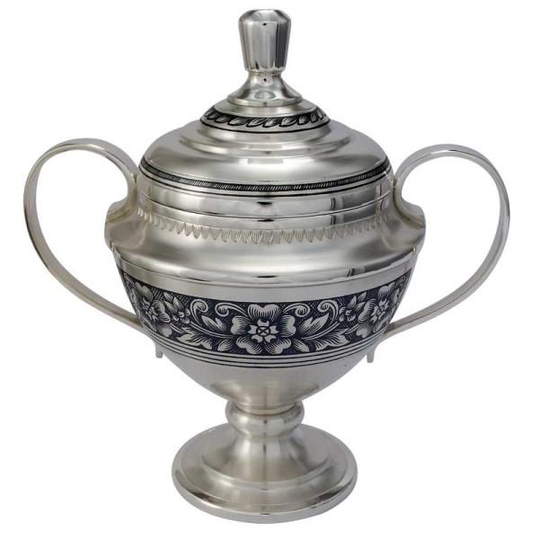 Zuckerdose 140 ml aus Sterling Silber