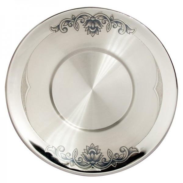 Untertasse aus Silber 98 g
