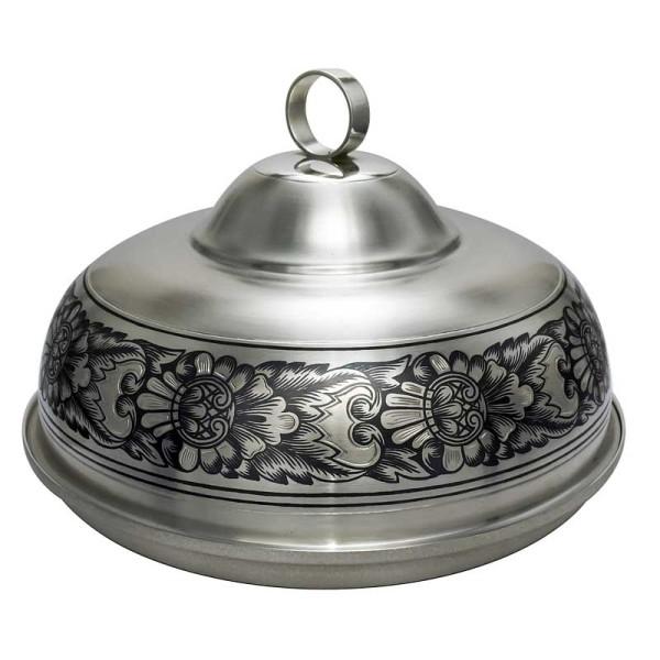 """Schale mit Deckel aus 925 Sterling Silber """"Niello Design"""""""